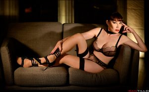 Mistress waiting for you to kneel